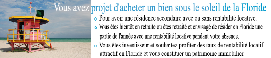 immobilier Floride